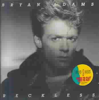 RECKLESS BY ADAMS,BRYAN (CD)
